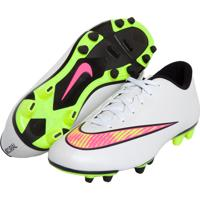 6f5a89012f Chuteira Nike Mercurial Vortex Ii Fg Branca