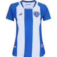 Camisa Do Paysandu I 2019 Lobo - Feminina - Branco/Azul