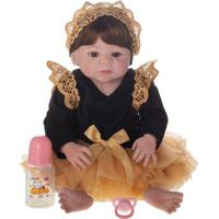 Boneca Laura Doll - Reborn - Baby Aurora - Shiny Toys