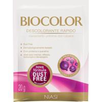 Descolorante Biocolor Pó Dust Free 20G