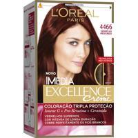 Coloração Imédia Excellence Creme N°4446 Vermelho Profundo Imedia 47G