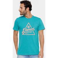 Camiseta Element Ascent Masculina - Masculino-Verde