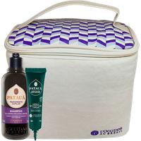 Frasqueira Patauá Roxa + Shampoo Tratamento Capilar Patauá + Ampola Capilar Hidratação Equilibrante Patauá