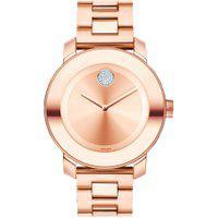 Relógio Movado Feminino Aço Rosé - 3600086
