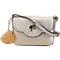 ced99cd40 ... Bolsa Gash Mini Bag Barbie Feminina - Feminino-Ouro