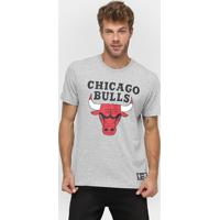 Netshoes  Camiseta New Era Nba Basic Logo Chicago Bulls - Masculino 4889fca46f136