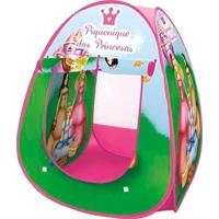 Barraca Iglu Infantil Dobravel Pop Up Piquenique Das Princesas Com Bolsa De Transporte - Unissex