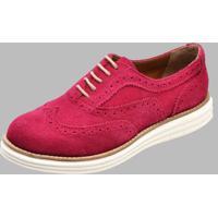 Sapato Oxford Dexshoes Rosa