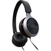 Headset Premium- Preto & Vermelho Escuro- 10X16Cm