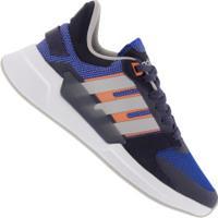 Tênis Adidas Run90S - Feminino - Azul/Cinza