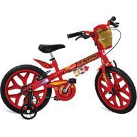 Bicicleta Bandeirante 16 Vingadores Homem De Ferro Vermelho