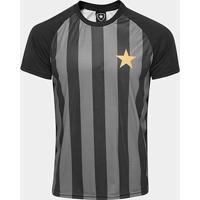 Camisa Botafogo Estrela Gold Nº 7 - Edição Limitada Masculina - Masculino