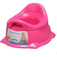Troninho Infantil Potty Pinico Rosa - Clingo