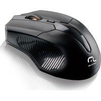 Mouse Multilaser Wireless Sem Fio 2.4 Ghz Mo221 Preto