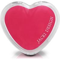 Espelho De Bolsa Coração Jacki Design Espelhos Salmão