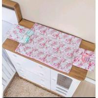 Trocador I9 Baby De Bolsa Plastificado Floral