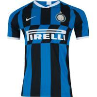 Camisa Inter De Milão I 19/20 Nike - Masculina - Azul/Branco
