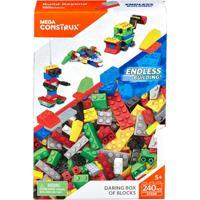 Blocos De Montar - Mega Bloks - Box Grande - Veículos - Fisher-Price - Unissex-Incolor