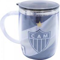 Caneca Térmica Com Tampa 450Ml Atlético Mineiro - Unissex