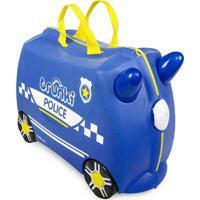 Mala Infantil Trunki - Carro De Policia - Sua Viagem Muito Mais Divertida Azul