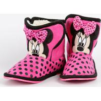 Pantufa Botinha Infantil Minnie Disney