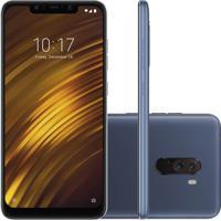 Smartphone Xiaomi Pocophone F1 64Gb 6Gb Ram Versão Global Desbloqueado Azul