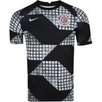 Camisa Do Corinthians Iv 2020 Nike - Masculina - Preto