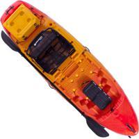 Caiaque Com 1 Remo Brudden Hunter Fishing 285 - 1 Pessoa - Laranja