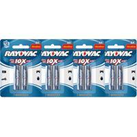 Kit Com 8 Pilhas Alcalinas Rayovac Aa (Lr6 - Pequena)