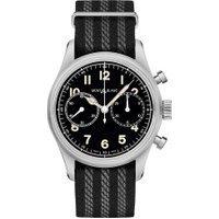 Relógio Montblanc Masculino Nylon Preto E Cinza - 117835