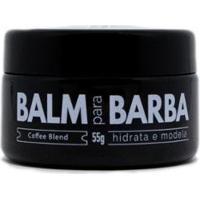 Hidratante Para Barba Balm Coffee Blend Barba Brava 55G - Masculino-Incolor