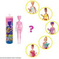 Boneca Barbie Color Reveal Areia E Sol
