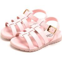 Sandália Klin Flat Baby Rosa