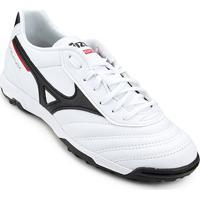 d26b7c1ed Netshoes  Chuteira Society Mizuno Morelia Classic As P - Unissex