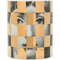Fornasetti Face Print Candle - Metálico