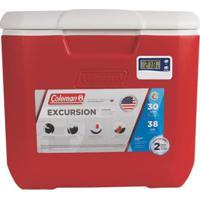 Caixa Térmica Com Termômetro 30 Qt 28,3 Litros - Unissex