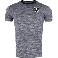 Camiseta Do Botafogo Mixed 19 - Masculina - Preto Mescla