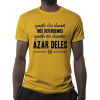 Camiseta Azar Deles Masculina - Masculino
