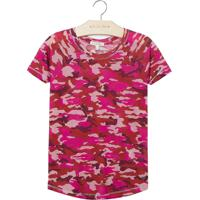Blusa Le Lis Petit Camuflada Estampado Feminina (Camuflado Pink, 2)