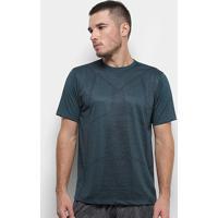 Camiseta Gonew Abstrat Masculina - Masculino-Verde