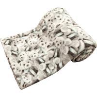 Cobertor Cuca Criativa Urso Cinza