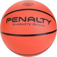 Bola De Basquete Penalty Playoff Ix - Unissex-Laranja+Preto
