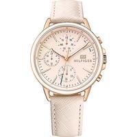 Relógio Tommy Hilfiger Feminino Couro Rosa - 1781789