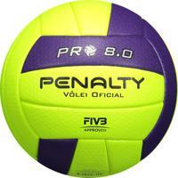 Bola De Vôlei Penalty 8.0 Pró Amarela