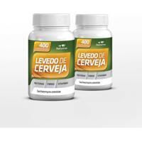 Kit Levedo De Cerveja Nutryervas 2 400Comprimidos/500Mg
