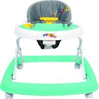 Andador Sonoro Styll Baby Verde/Branco
