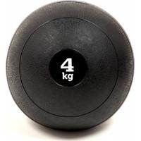 Slam Ball 4Kg Yangfit Bola Medicine Funcional Preto