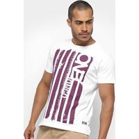 Camiseta Onbongo Time To Surf Masculina - Masculino-Branco