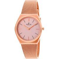 Relógio Oslo Feminino - Ofrsss9T0004.R1Rx - Rosé