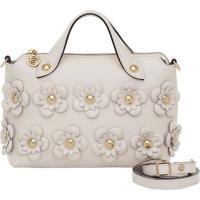 Bolsa Smartbag Alça De Mão Flower Manteiga- 73006.18